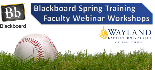 Spring Training Workshops